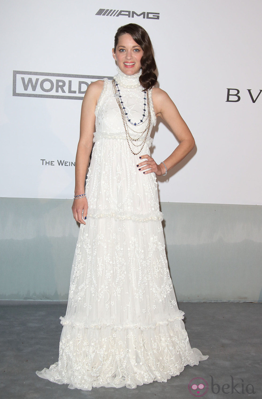 Marion Cotillard en la gala amfAR del Festival de Cannes 2014