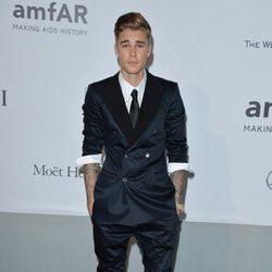Justin Bieber en la gala amfAR del Festival de Cannes 2014