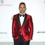 Lewis Hamilton en la gala amfAR del Festival de Cannes 2014