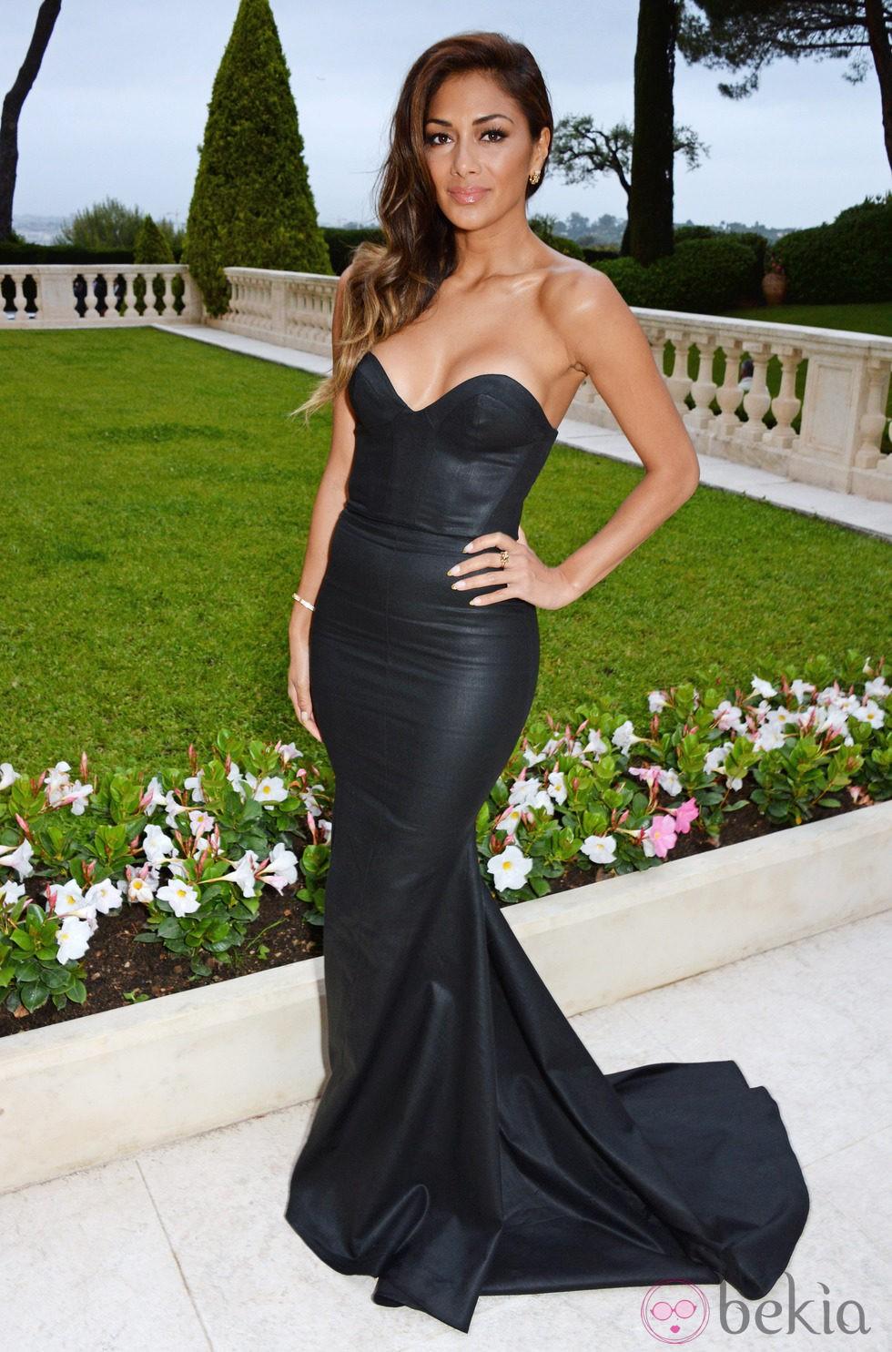 Nicole Scherzinger en la gala amfAR del Festival de Cannes 2014