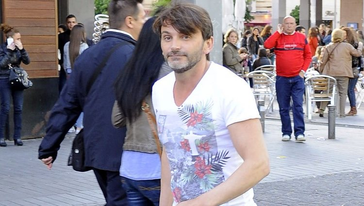 Fernando Tejero en el concierto de Dani Martín en Madrid