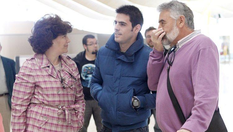 Los padres y el hermano de Iker Casillas vuelan a Lisboa para la final de Champions 2014