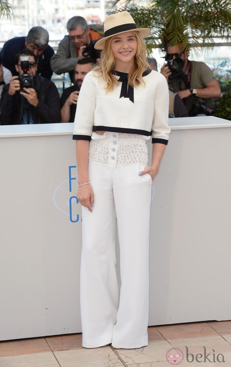 Chloe Grace Moretz en el Festival de Cannes 2014