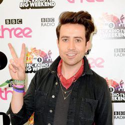 Nick Grimshaw en el  Radio 1's Big Weekend de la BBC 2014