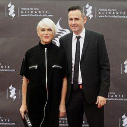 Antonia San Juan y Luis Miguel Seguí en la apertura del Festival de Cine de Alicante 2014
