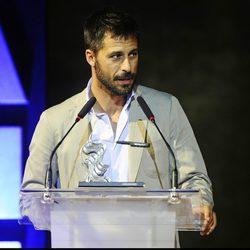 Hugo Silva, premiado en la apertura del Festival de Cine de Alicante 2014