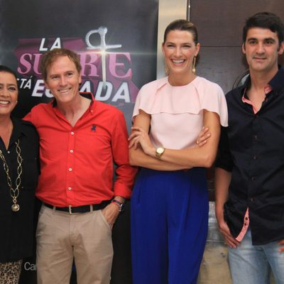 María del Monte, Enrique Romero, Laura Sánchez y Jesulín de Ubrique presentan 'La suerte está echada'