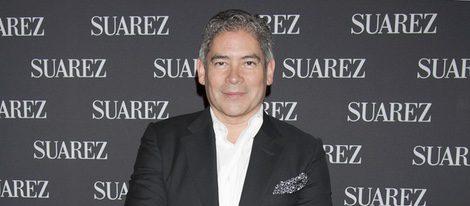 Boris Izaguirre en un concierto solidario organizado por la firma Suárez