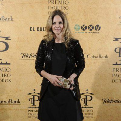 Genoveva Casanova en la entrega del Premio Paquiro 2014