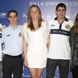 Melani Costa en la presentación de 'España Compite'
