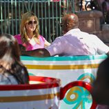 Heidi Klum y Seal en Disneyland