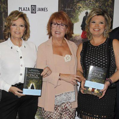 Rosa Villacastín presenta su libro 'La Princesa Paca' con María Teresa Campos y Terelu Campos