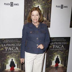 Natalia Figueroa en la presentación del libro 'La Princesa Paca'