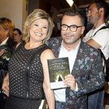 Terelu Campos y Jorge Javier Vázquez en la presentación del libro 'La Princesa Paca'