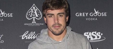 Fernando Alonso en el club 'Billionaire' de Roma
