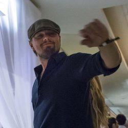 Leonardo DiCaprio en el club 'Billionaire' de Roma