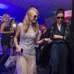 Paris Hilton en el club 'Billionaire' de Roma