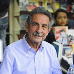 Miguel Ángel Revilla en la Feria del Libro de Madrid 2014