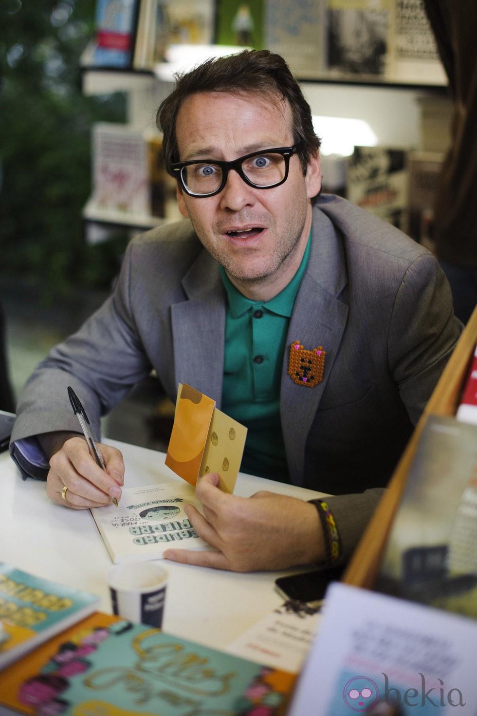 Joaquín Reyes en la Feria del Libro 2014