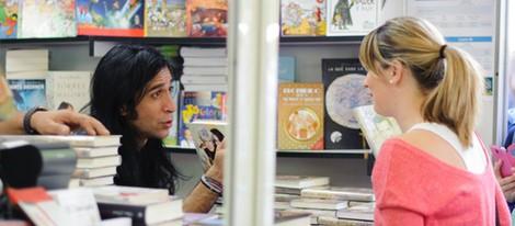 Mario Vaquerizo en la Feria del Libro de Madrid 2014