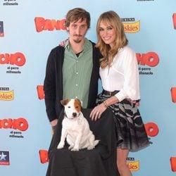Ivan Massagué y Patricia Conde en la premiere de 'Pancho, el perro millonario' en Madrid