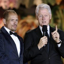 Bill Clinton en la gala Life Ball 2014 de Viena