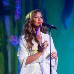 Leona Lewis actúa en el Life Ball 2014 de Viena
