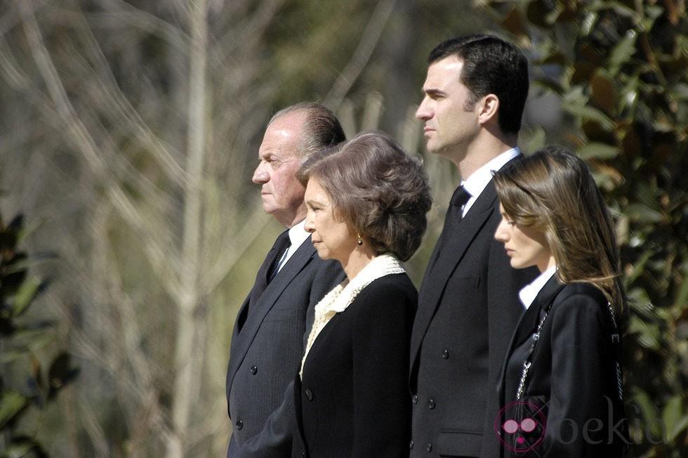 El Rey, la Reina y los Príncipes de Asturias