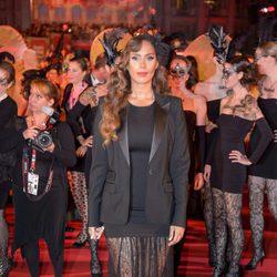 Leona Lewis en la alfombra roja del Life Ball 2014 de Viena.