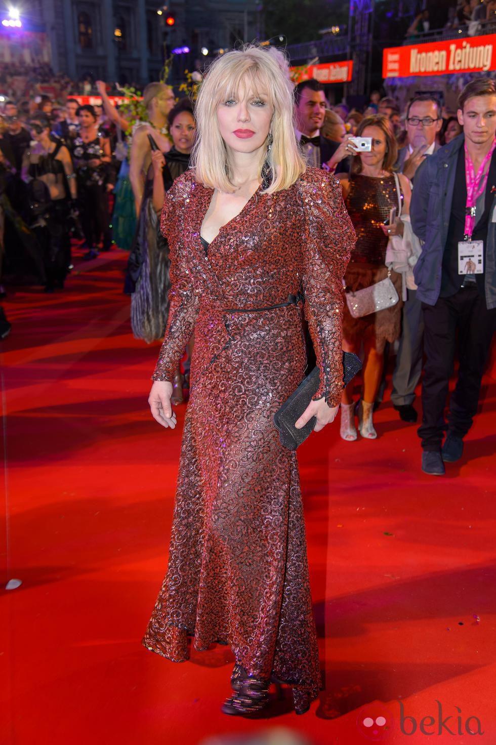 Courtney Love en la gala Life Ball 2014 de Viena.
