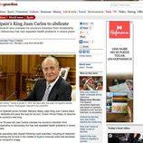 La abdicación del Rey en The Guardian