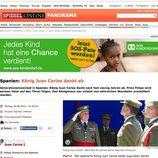 La abdicación del Rey en Der Spiegel