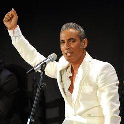 Pitingo en la presentación de su disco 'Cambio de tercio'
