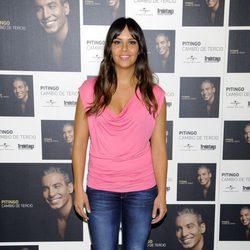 Cristina Pedroche en la presentación del disco de Pitingo 'Cambio de tercio'