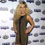Rebeca Pous en la fiesta final de 'Supervivientes 2014'