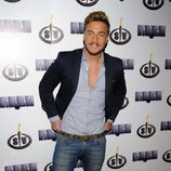 Tony Spina en la fiesta final de 'Supervivientes 2014'