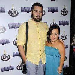 Chiqui y su marido Borja en la fiesta final de 'Supervivientes 2014'