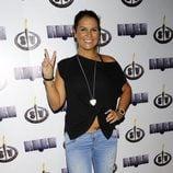 Katia Aveiro en la fiesta final de 'Supervivientes 2014'