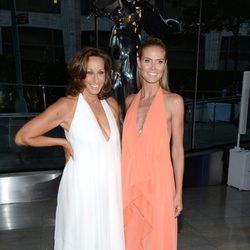 Donna Karan y Heidi Klum en los CFDA Fashion Awards 2014