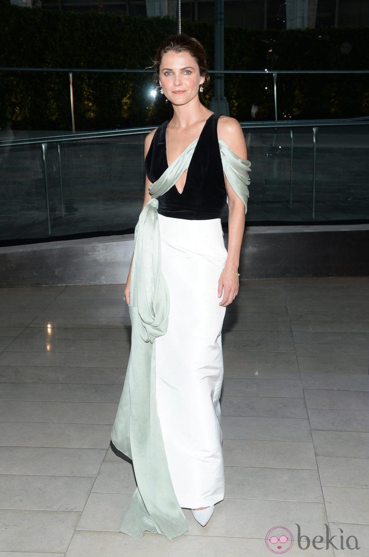Keri Russell en los CFDA Fashion Awards 2014