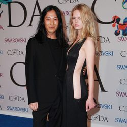 Alexander Wang y Anna Ewers en los CFDA Fashion Awards 2014