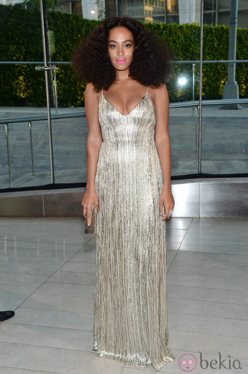 Solange Knowles en los CFDA Fashion Awards 2014