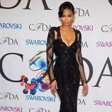 Chanel Iman en los CFDA Fashion Awards 2014