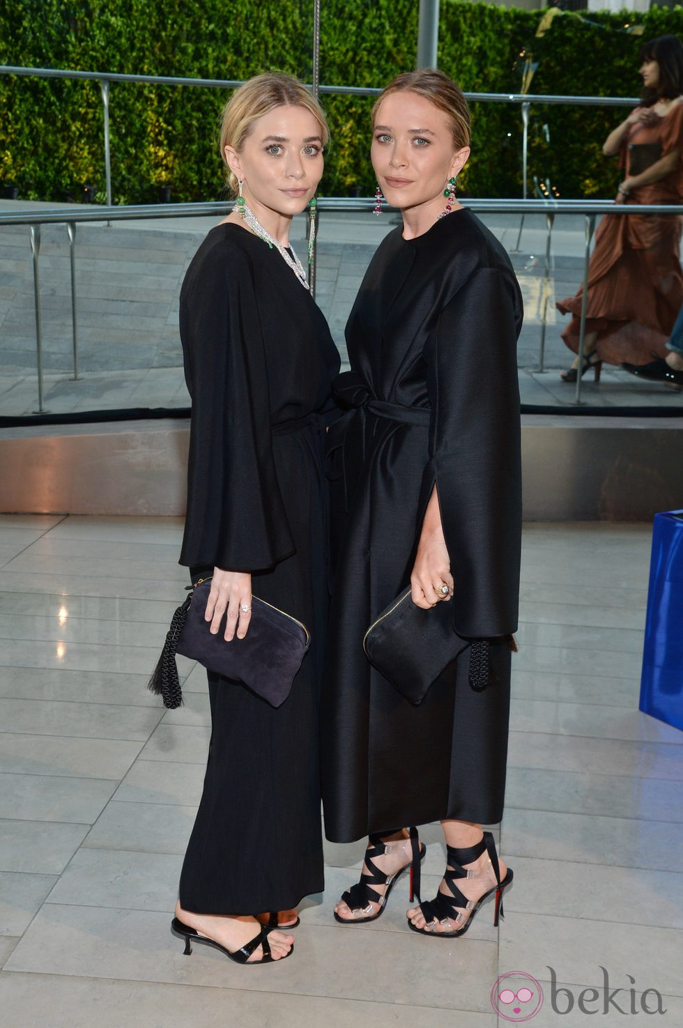 Mary-Kate y Ashley Olsen en los CFDA Fashion Awards 2014