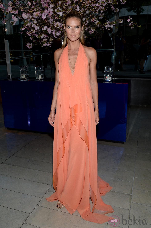 Heidi Klum en los CFDA Fashion Awards 2014