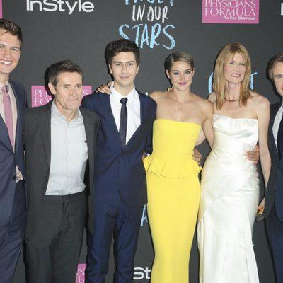 El reparto de 'Bajo la misma estrella' en Nueva York