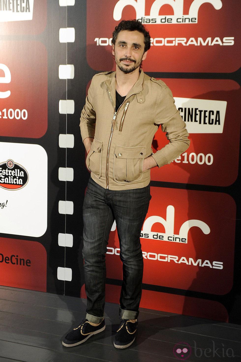 Canco Rodríguez en la celebración de los 1.000 programas de 'Días de cine'