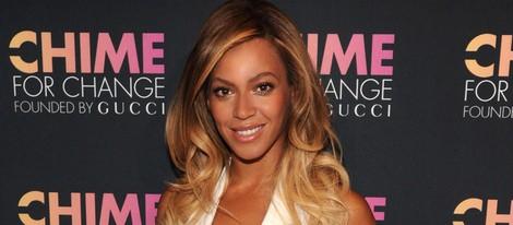 Beyoncé en el aniversario de la fundación Chime for Change