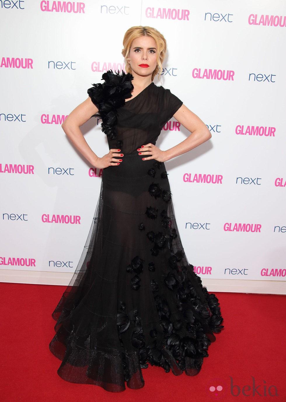Paloma Faith en los Premios Glamour Mujeres del Año 2014 de Londres