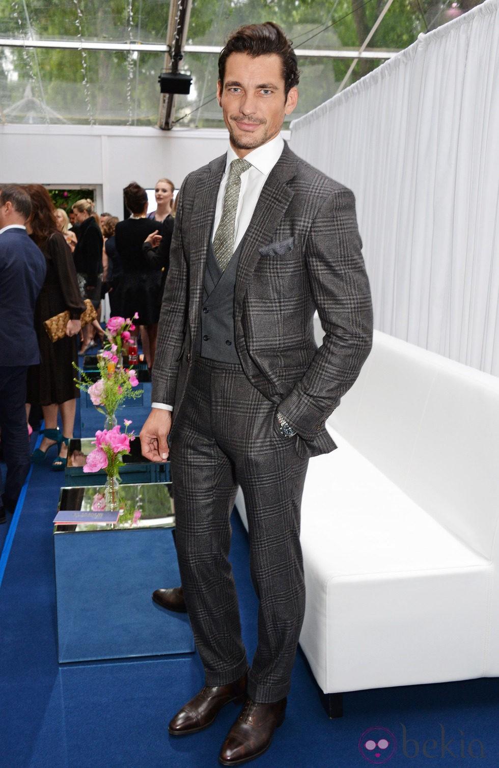David Gandy en los Premios Glamour Mujeres del Año 2014 de Londres